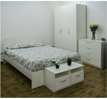 Спальный гарнитур Осло  для малогабаритной комнаты цена 36500 в компле