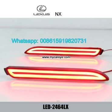 Lexus NX Car LED Rear Bumper Brake Turn Signal Lights lamps in Tīkapur