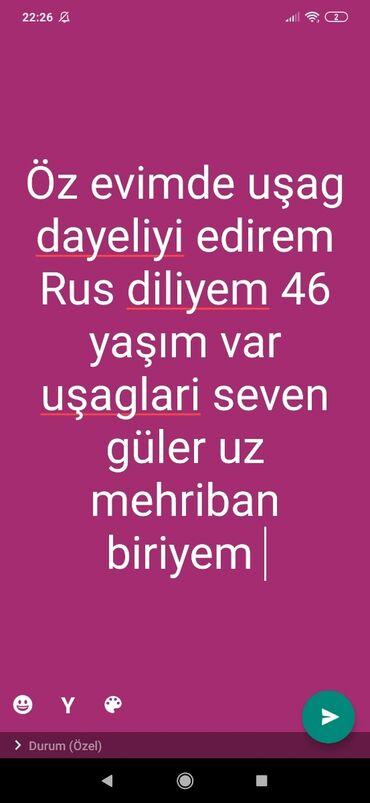 yer sumlayan - Azərbaycan: Uşag dayesi öz evimde yer:Bileceri