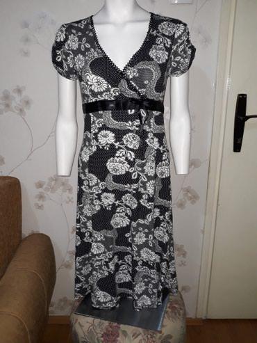 Preslatka haljina,par puta obucena,duz.80 cm,uni vel,pozadi podesiva - Smederevo