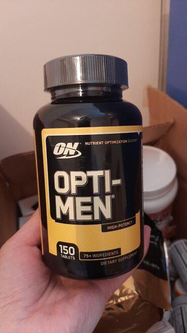 В наличии мульти витамины для мужчин optimen 150 т