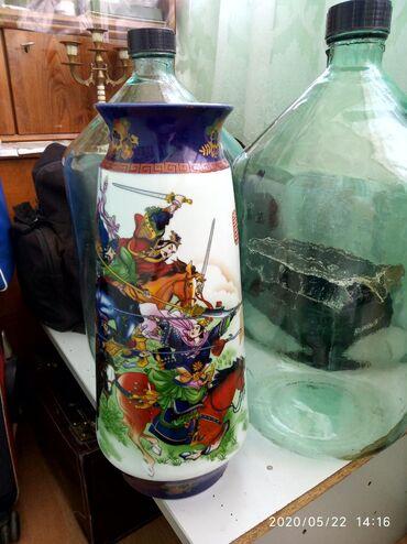 Антикварные вазы в Кыргызстан: Продаю китайскую вазу. Вначале 90годы. Высота 45см. В отличном