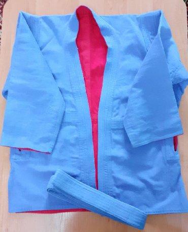 борцовка для борцов в Кыргызстан: Куртка кимоно для самбо размер 40, хлопок 100%.500 сом борцовки самбо