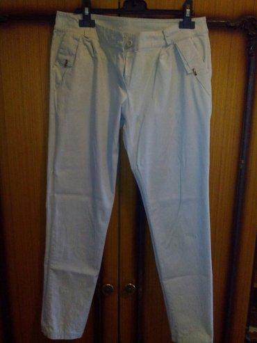 Pantalone zenske 97%pamuk 3%elastin velicina xl. Puder boja. Elegantne - Mladenovac
