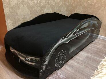 Продаю детскую кроватку в виде машины. Состояние на 4. Пользовались