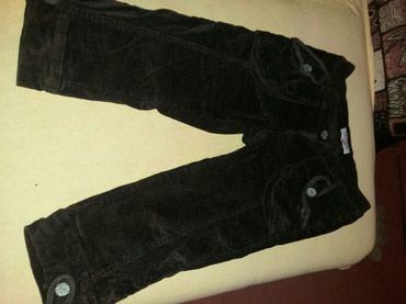 Pantalone-braon-icna-frd - Srbija: Somotne kratke braon pantalone. Obucene par puta. Vrlo udobne. Broj 27