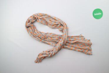 Легкий шарф з принтом   Стан гарний