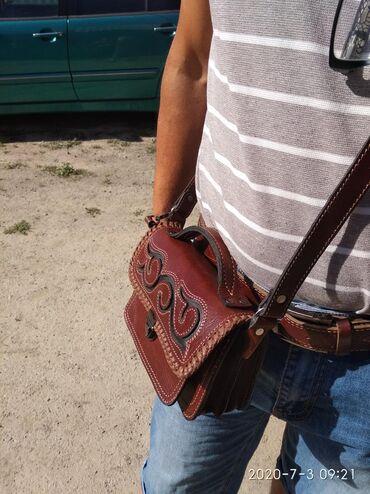Эксклюзивные сумки из натуральной кожи на заказ мужские 1700сом