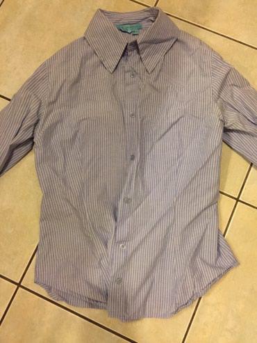 Ριγέ μπλέ λευκό γυναικείο πουκάμισο βαμβακερό . Νο small . Αφοπρετο  σε Υπόλοιπο Αττικής - εικόνες 4