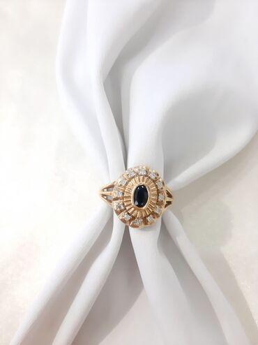 Кольцо из жёлтого золота ❤▪︎Проба: 585▪︎Размер: 18▪︎Вставка: бриллиант
