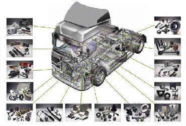 запчасти на прицепы в Кыргызстан: Запчасти для европейских грузовиков, прицепов и автобусов марки DAF