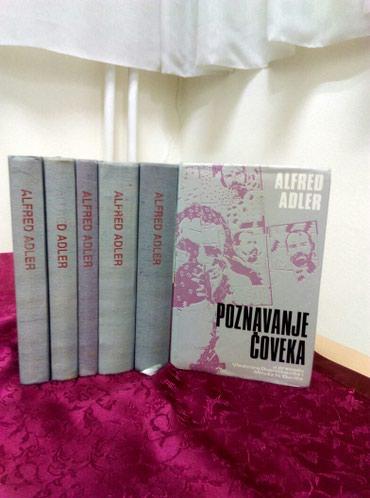 Komplet od 6 knjiga Alfreda Adlera: - Crvenka