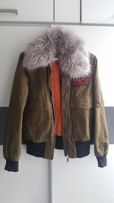 Ostalo | Beograd: AKCIJAA Ženska jakna,prelep model,za prelazni period,krzno se skida,it