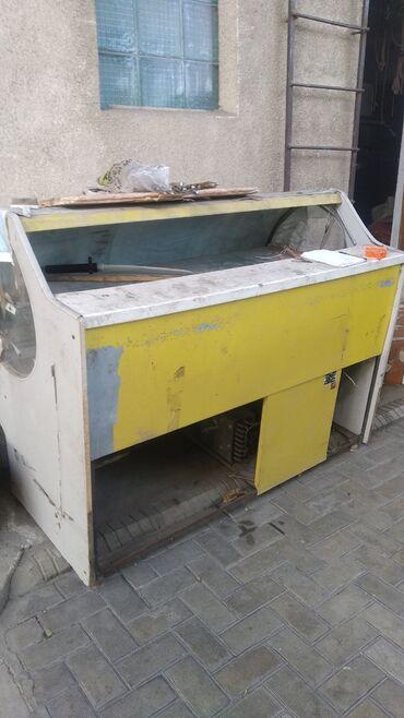 холодильник в Кыргызстан: Продаю ветринные холодильники не рабочие. Надо поменять двигателя