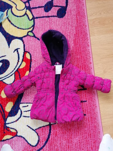 Dečije jakne i kaputi | Leskovac: Zimska jakna, obucena svega 2x. Velicina 80-odgovara za dete od godinu