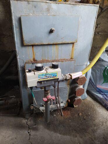 Газовый котёл с автоматической горелкой