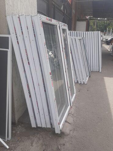 прием пластика в бишкеке в Кыргызстан: Окна окна окна.двери подоконники. Качественное пластиковые окна и