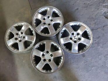 Honda R16 5×114 ровные не вареные не катаные. Состояние хорошее