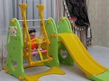 Детский мир - Садовое (ГЭС-3): Пластиковые комплексы