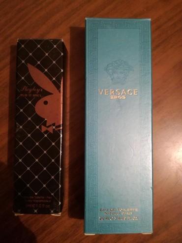 Original testeri,Versace Eros veci od 20ml muski 350 i Playboy manji - Belgrade