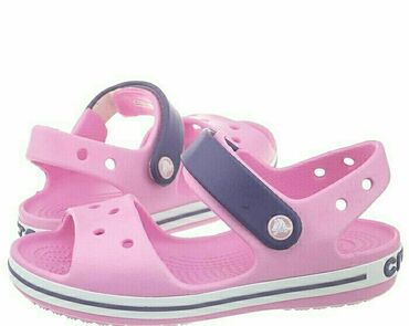 Кроксы сандали на девочку Новые, размер 34-35. Оригинал со
