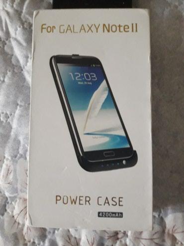 Xırdalan şəhərində Galaxy note 2 ucun power case( zaryatka kabro) ve note 2 ucun sade