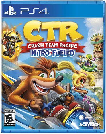 """PS4 üçün """"Crash Team Racing """" oyunu✔ Butun Oyun Diski orginaldi .✔"""