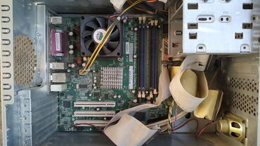 hp 1010 в Кыргызстан: HP Compaq dx2000MT,белой сборки,в составе только корпус, БП и
