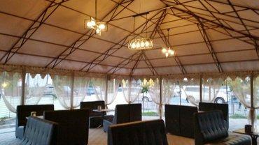 Срочно продаю шатры для кафе   8×10 и 6×6. цена договарная. Тел. 0554- в Бишкек