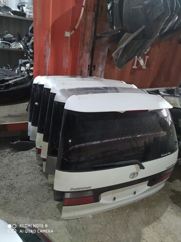 Эстима - Кыргызстан: Таота эстима крышка багажник Любой свет привозной из Японии состояние