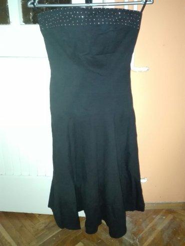 Svecana crna haljina sa cirkonima (NOVA) - Vrsac