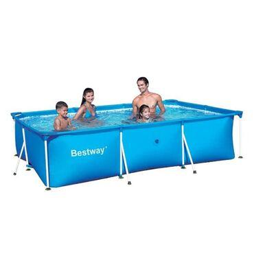 Каркасный бассейн bestway 3,05х76Высота 76 см Длина 450 смШирина 220