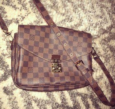 Prada torba je turskoj e - Srbija: Louis Vuitton kozna torba, prva replika.  Torba je u odlicnom stanju