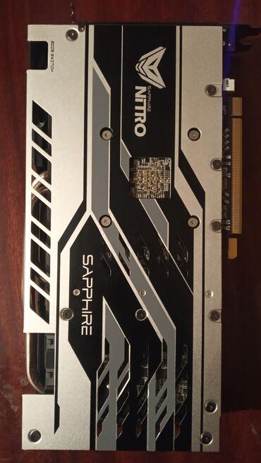 Sapphire RX 580 8 GB 256bitВидеокарта рабочая, при нагрузке