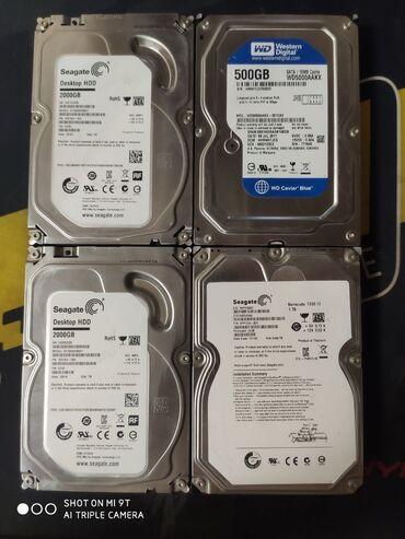 Продаю жёсткие диски Все диски 100% живые и рабочие Seagate 2000gb -