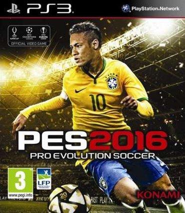 """Bakı şəhərində """"PES 2016"""" Игра для PS3"""