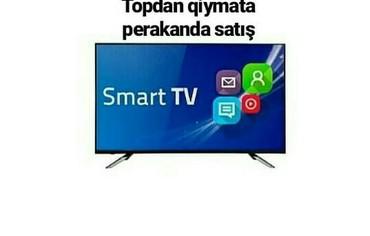 Bakı şəhərində Televizor regular 82 sm smart model .Bu model internete wifi ila