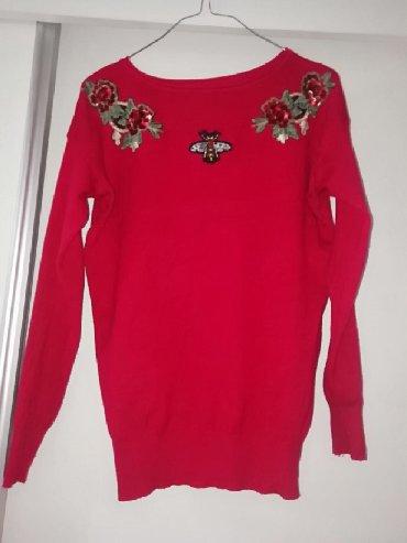 Gucci-s-wuj - Srbija: GUCCI džemper, nošen par puta, potpuno nov,bez oštećenja, veličina 38