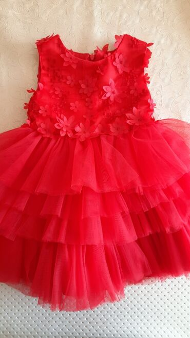платья на новый год в Кыргызстан: Платье  Размер на 1 годик