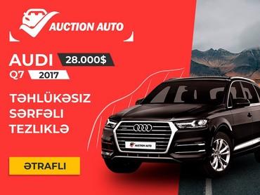 audi 100 qapıya - Azərbaycan: Audi Q7 2017