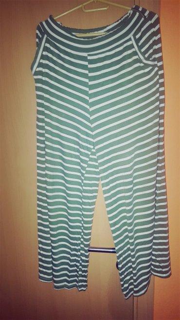 Pantalone sa - Srbija: Zenske pamucne pantalone sa sirokim nogavicamai dzepovima