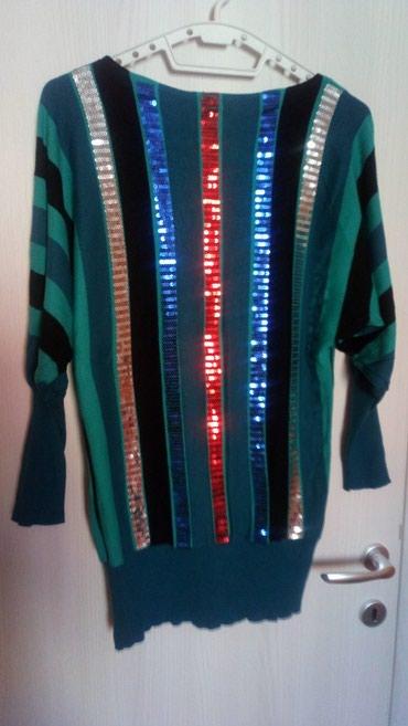 Prelepa majica/tunika, univerzalna veličina, sa krljuštima, nošena - Novi Sad