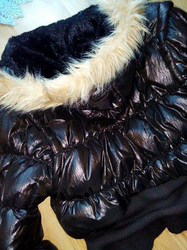 Bakarna jakna, kao nova, m velicini bi najbolje odgovara. Postavljena  - Bor