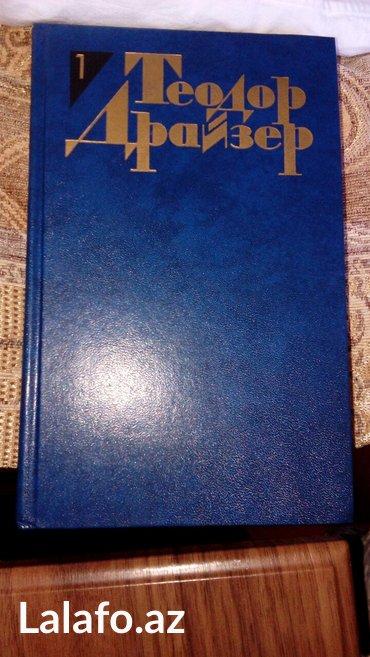 """Bakı şəhərində T. Drayzer, rus dilində,12 cilddə,1986-cı il nəşri,""""Огонек"""""""