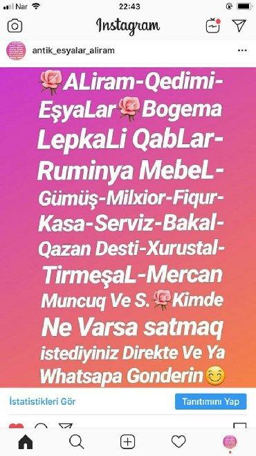 qedimi esyalar - Azərbaycan: ALiram Qedimi EsyaLar Whatsapda Gonderin