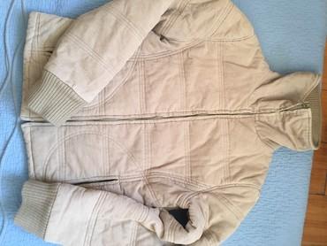 тёплую кожаную куртку в Кыргызстан: Продаю женскую, теплую, вельветовую куртку!