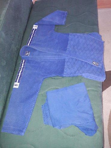 Kimono za dzudo. Plavi. Polovan. 650gr. Bez pojasa. Proizv. BMA. Za