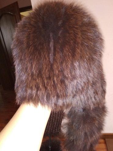 Шапка из кролика, состояние новое , в Бишкек