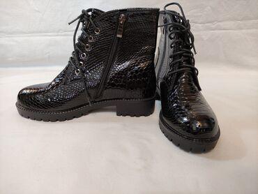 Продаю ботинки (Деми), лаковые. Абсолютно новые
