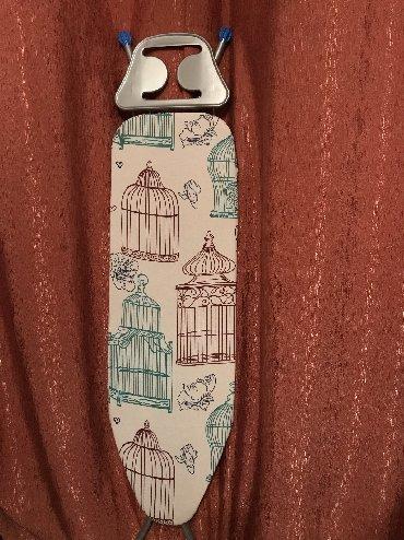 Гладильные доски - Кыргызстан: Доска гладильная, новая, только сняли упаковку, цена 1000 сом